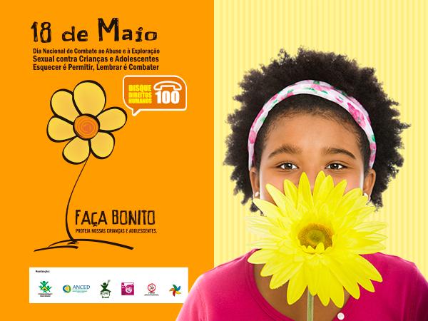 49dec50837ab Dia Nacional de Combate ao Abuso e à Exploração Sexual Infantil